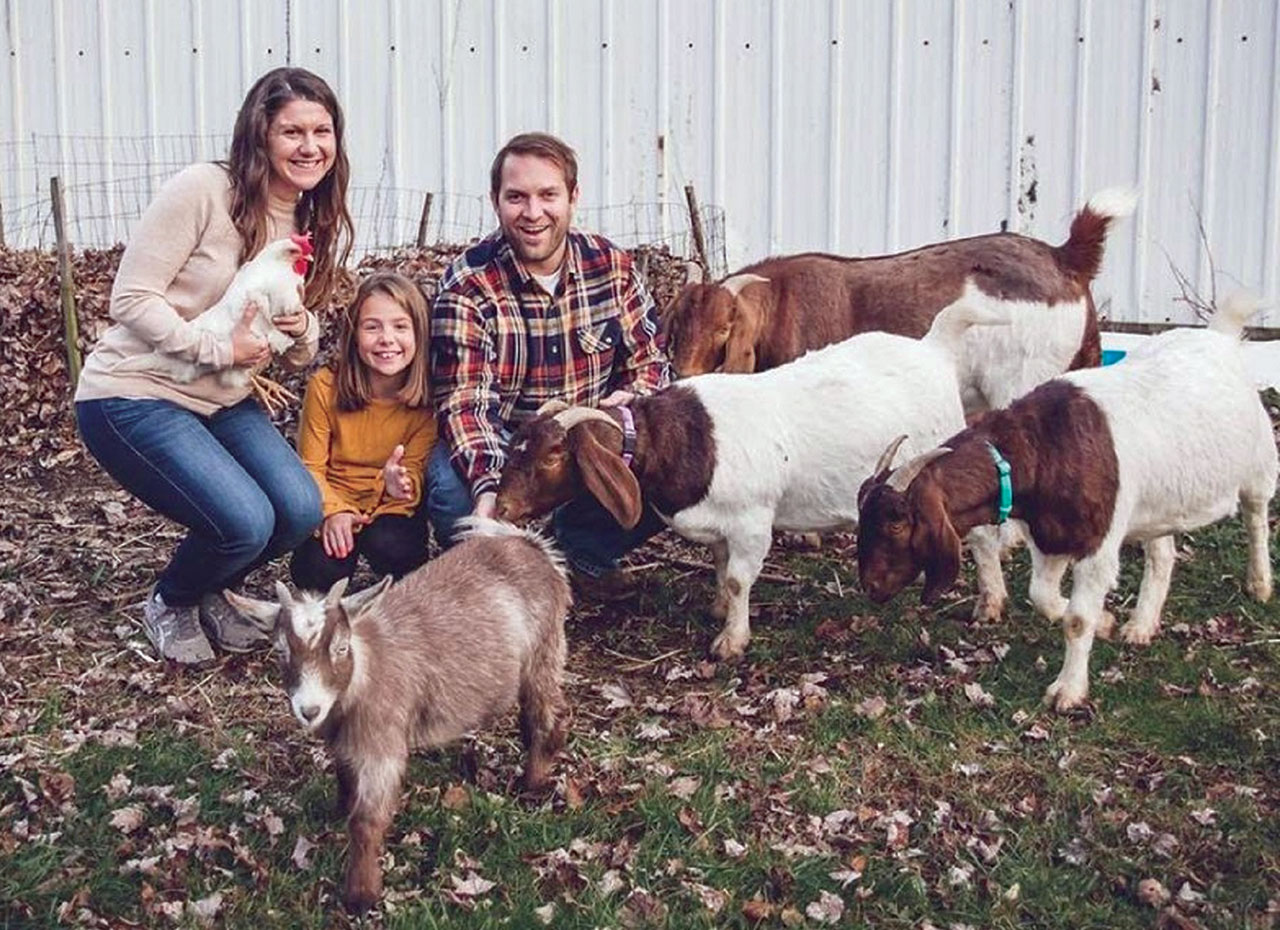 My Goatscaped Lawn Turned Farm