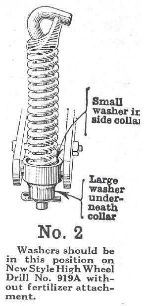 John Deere No 919 Corn Drill
