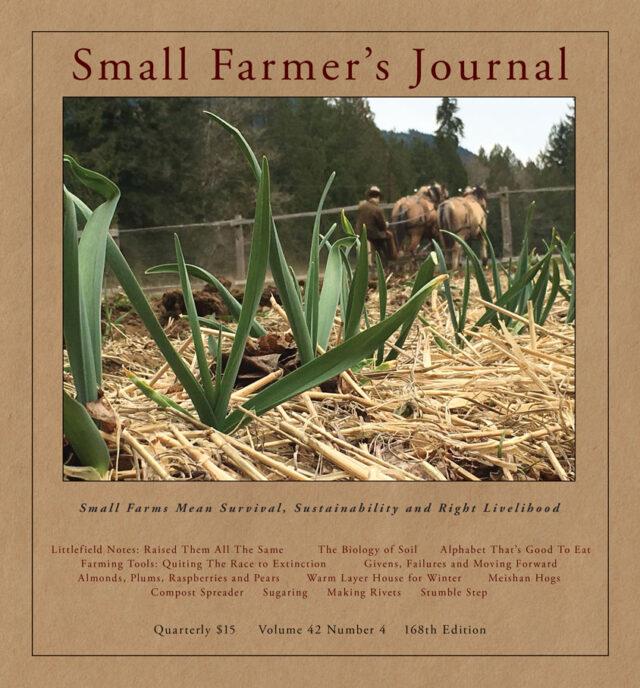 Small Farmers Journal Vol 42 No 4
