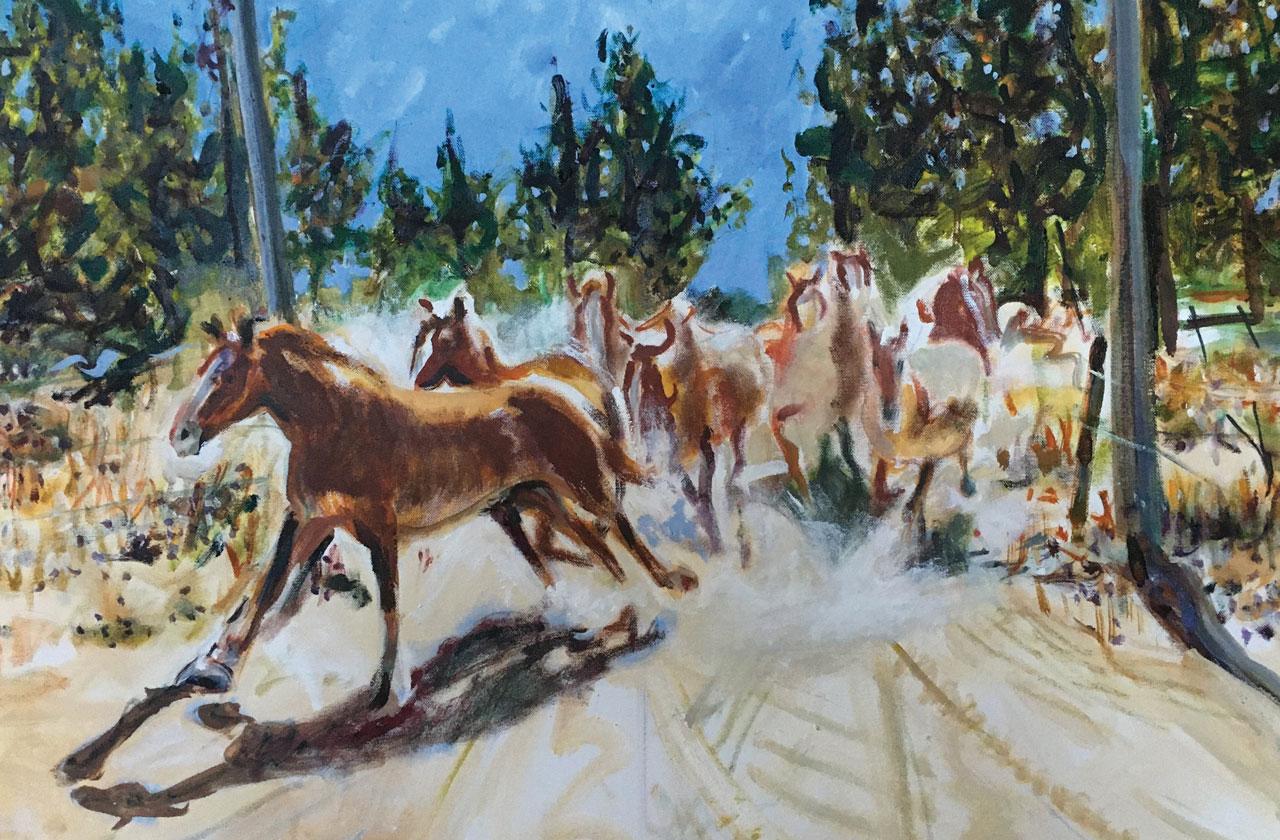 Gated Horses