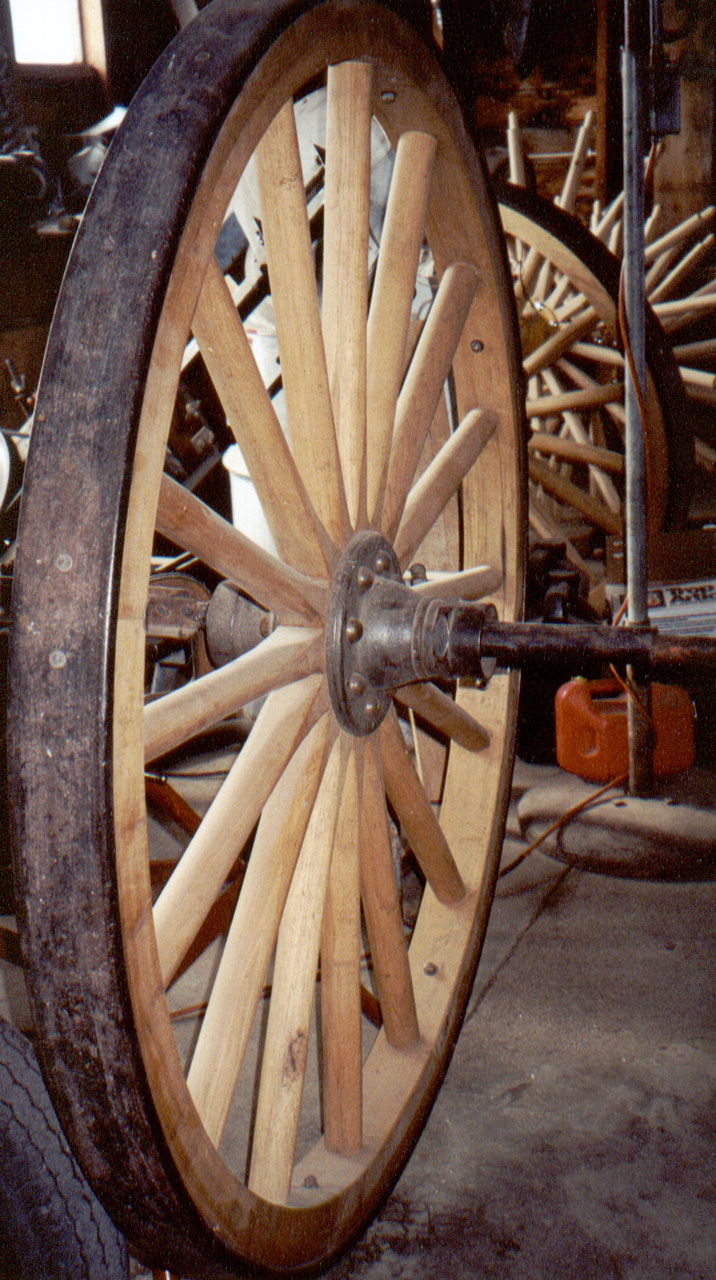 The Lost Art of a Wheelwright