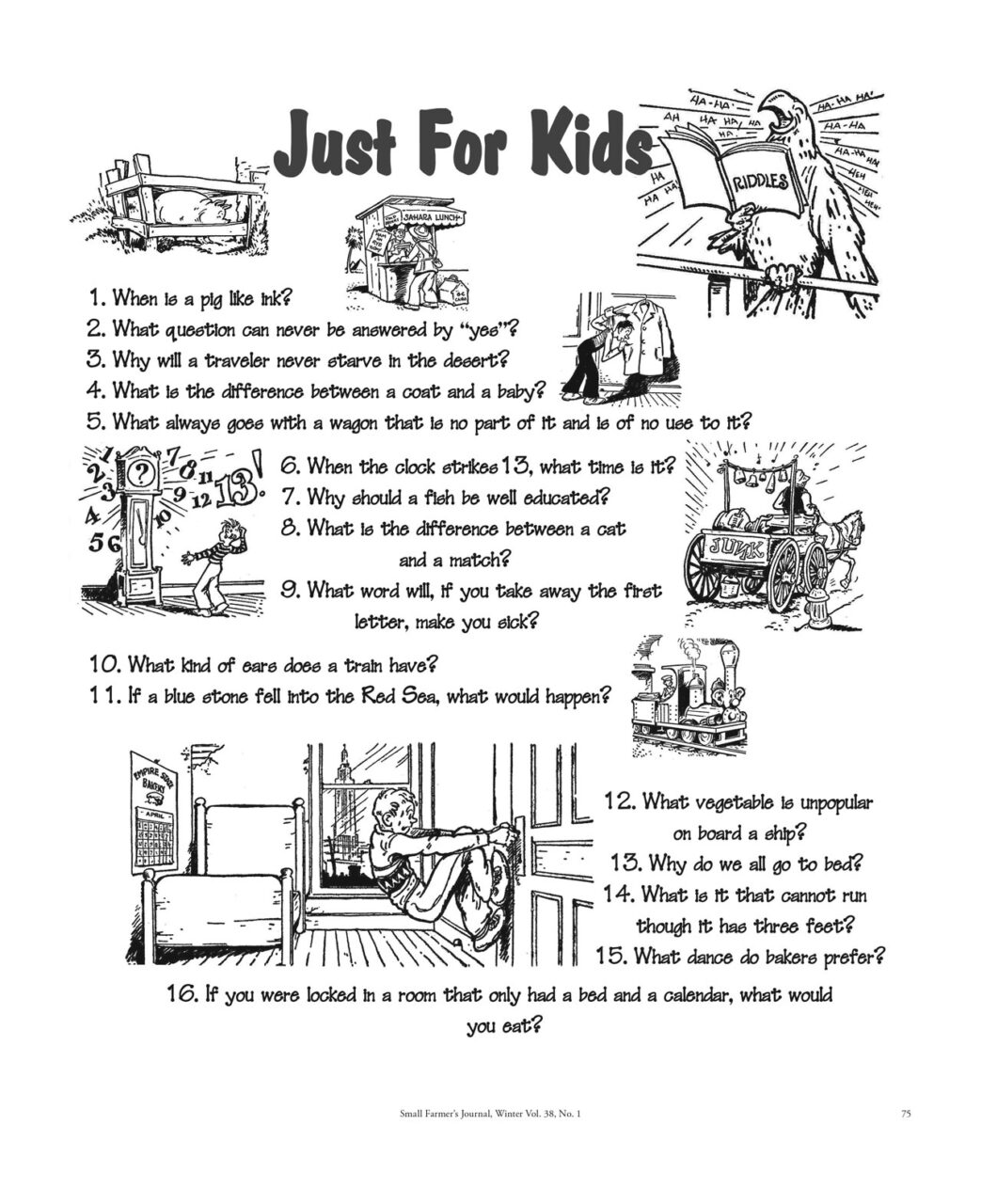 Just for Kids - 381 - Winter 2014