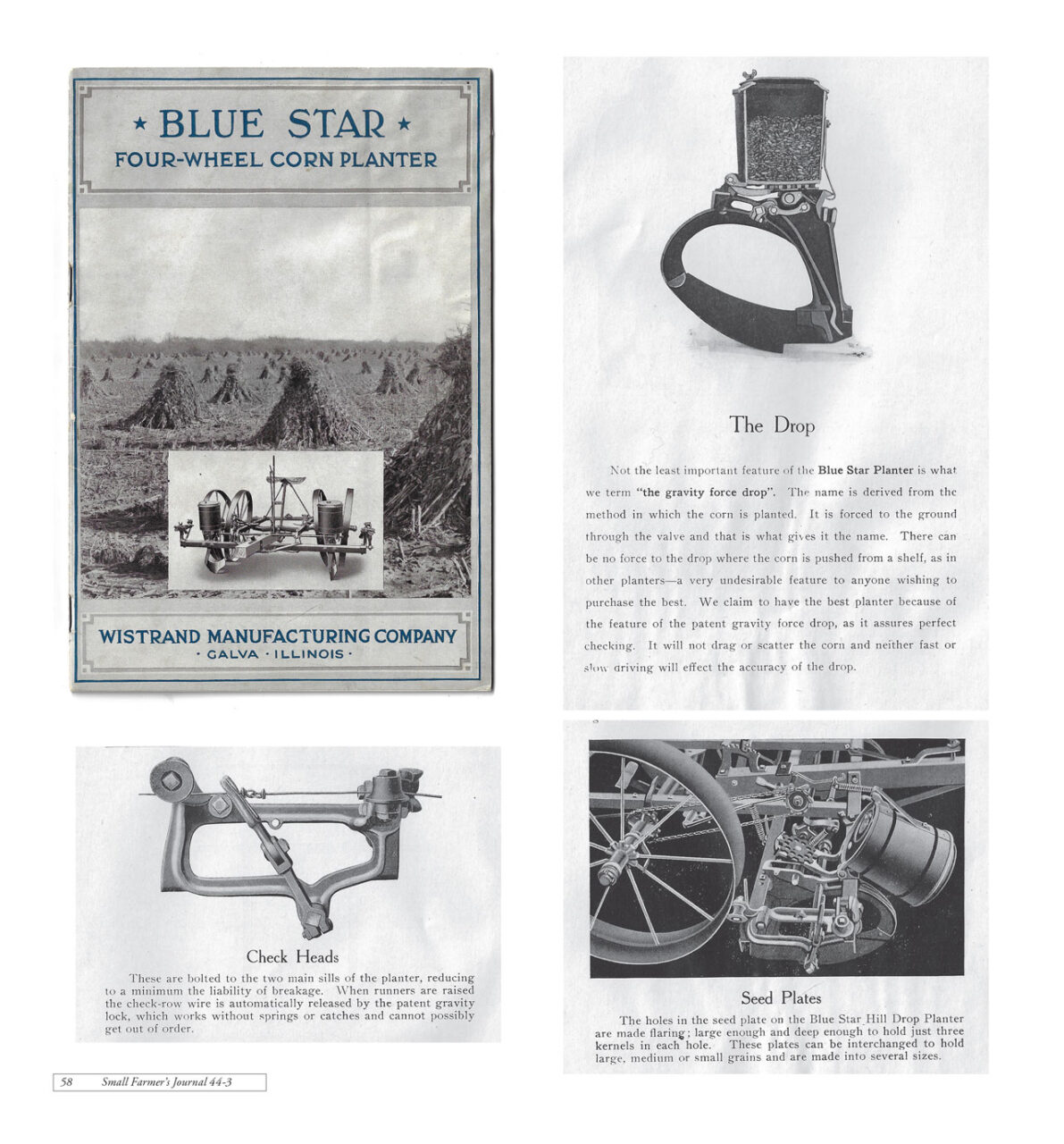 Blue Star Corn Planters