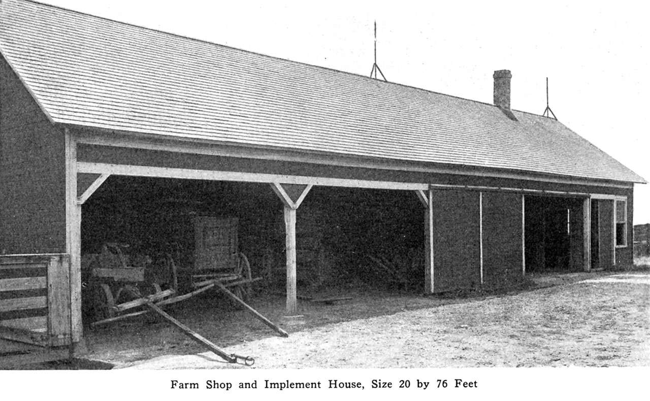 Farm Shop and Implement Shed