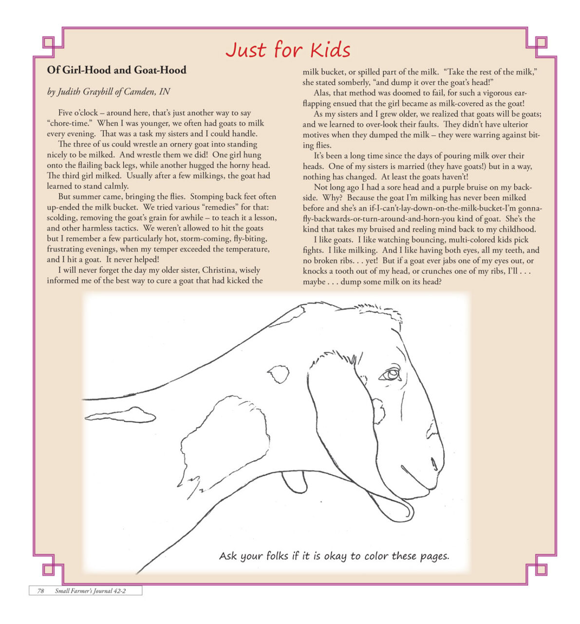 Just for Kids - 422 - Spring 2018