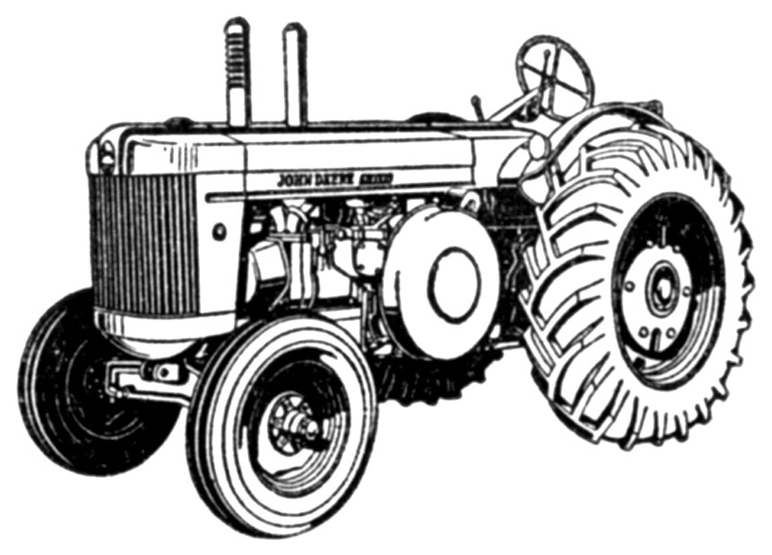 Old John Deere Two Cylinder Tractor Models