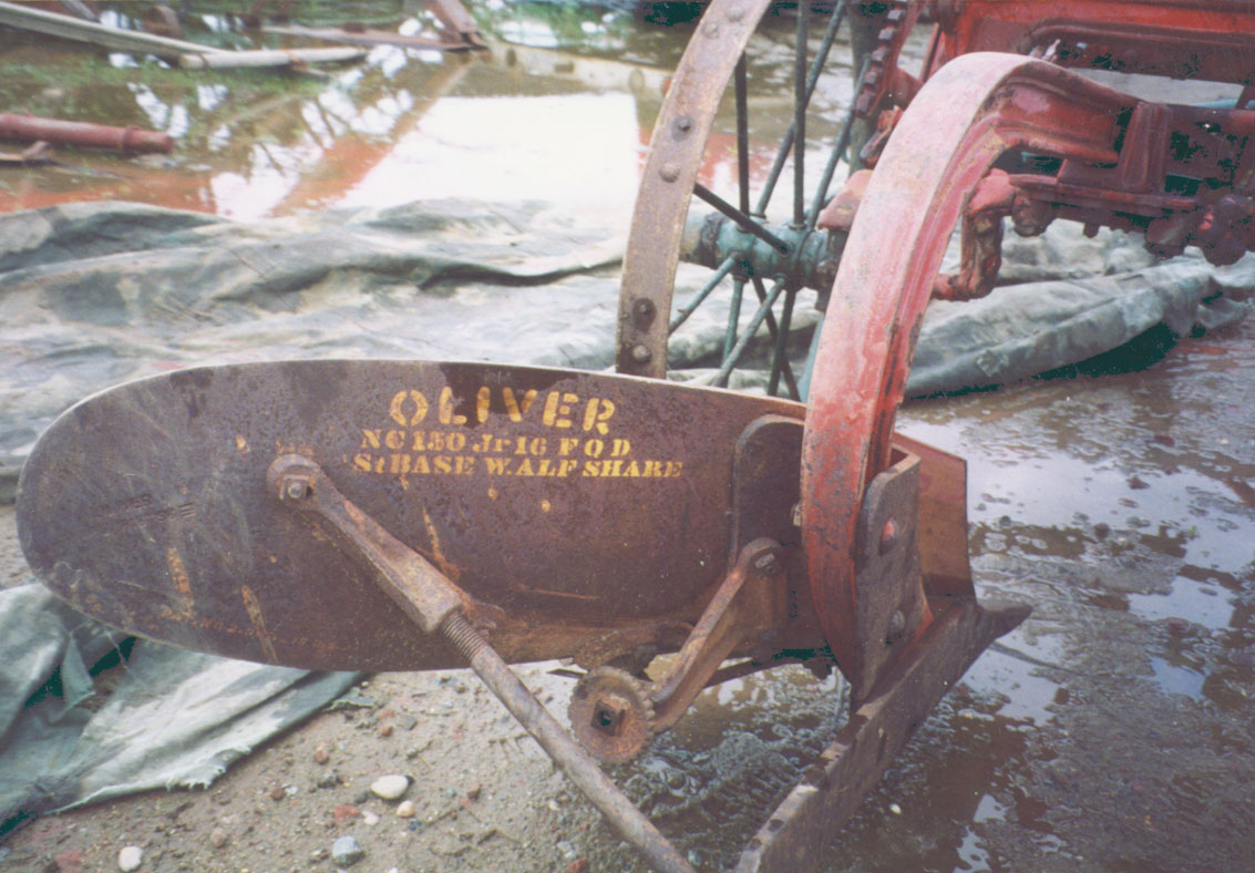 The Color of an Oliver Two Way Plow