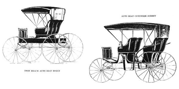 Buggy and Surrey Desgin Variations